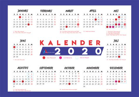 kalender  lengkap hari libur sosialpost