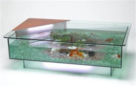 coffee table or aquarium