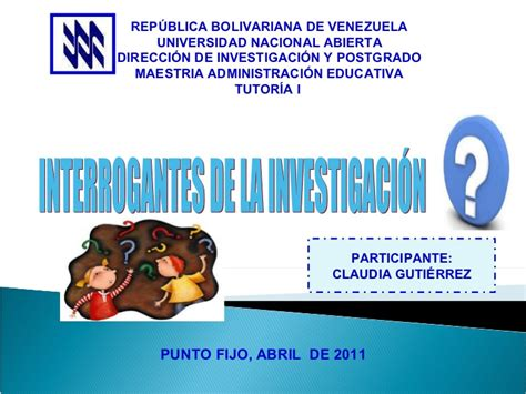 preguntas interrogantes investigacion interrogantes de la investigaci 243 n