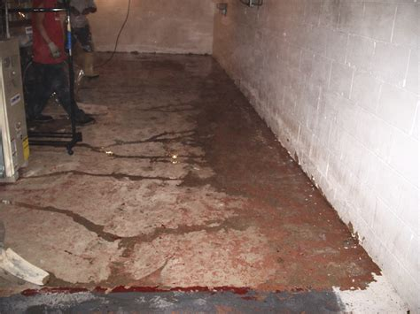 water seepage accurate basement repair