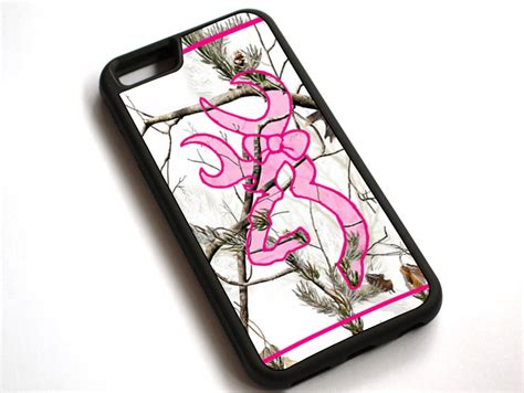 Pink List White camo pink list logo snow white tpu cover for apple