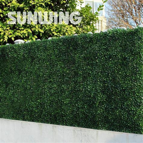 decorative plastic plants screening fence 48pcs 10 quot by 10
