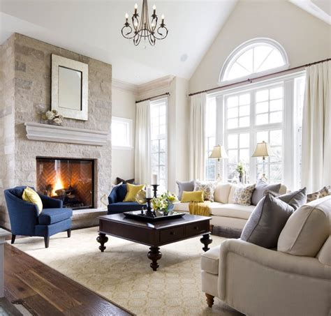 Living Room Decor Toronto Lockhart Kylemore Custom Home Traditional Living