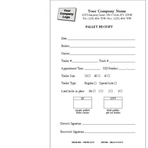 receipt template messenger pin delivery form on