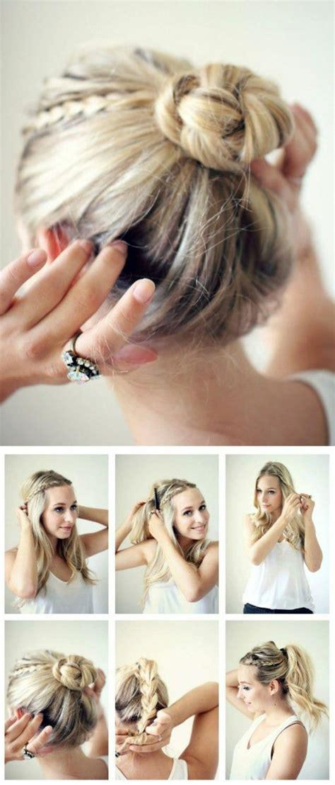 Coiffure Cheveux Courts Facile by Beaucoup D Id 233 Es Diy Pour Une Coiffure De Soir 233 E Facile