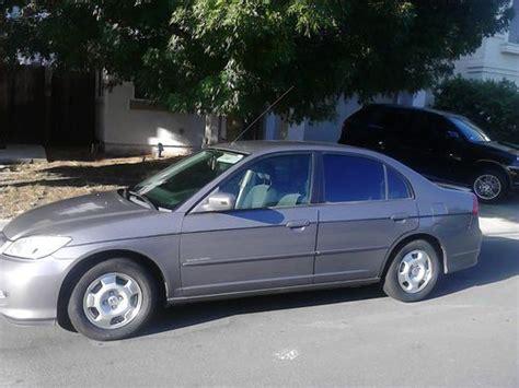 2004 Honda Civic 4 Door by Sell Used 2004 Honda Civic Hybrid Sedan 4 Door 1 3l In