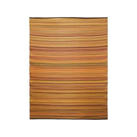 achla designs snap orange 6 ft x 8 ft indoor