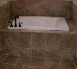 Bathroom Tub Surround Tile Ideas Tile Bathtub Surround Home Design Ideas
