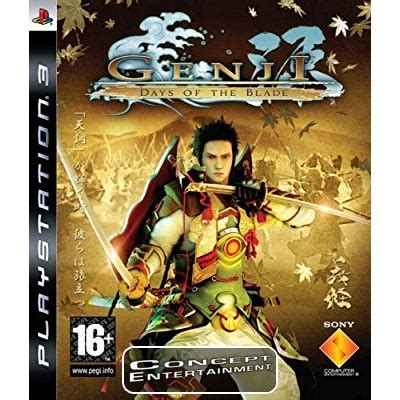ost film genji ps3 genji days of the blade concept entertainment