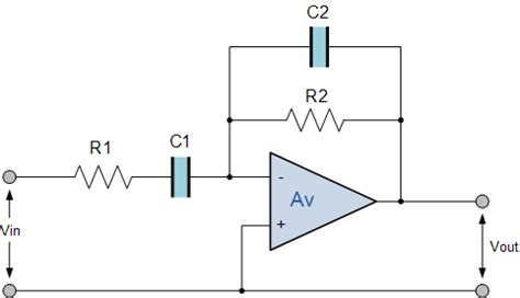 high pass filter non inverting active band pass filter op band pass filter