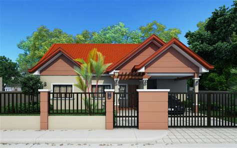 house plan front view small house designs series shd 2014009 pinoy eplans