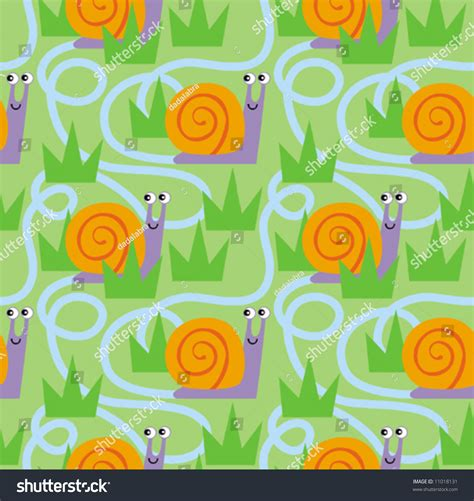 seamless pattern fill illustrator seamless tiled vector snail pattern can be dragged into