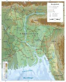 geography of bangladesh wikipedia