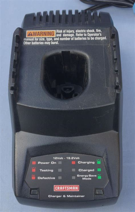 craftsman battery charger 19 2 craftsman battery charger 19 2v for sale classifieds