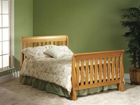 Cribs That Turn Into Size Beds by Solid Wood Cribs Organic Grace
