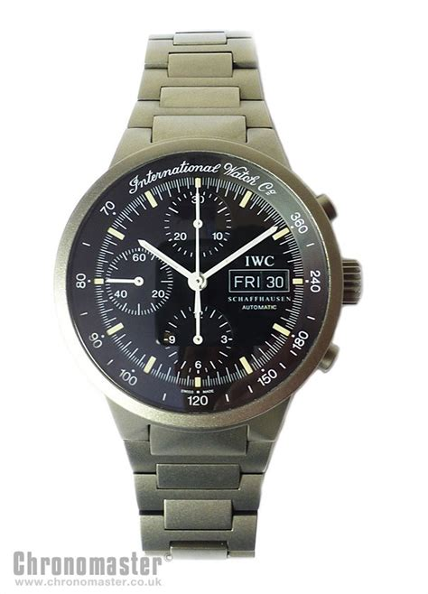 IWC GST Automatic Chronograph in Titanium IWC 181   Chronomaster UK