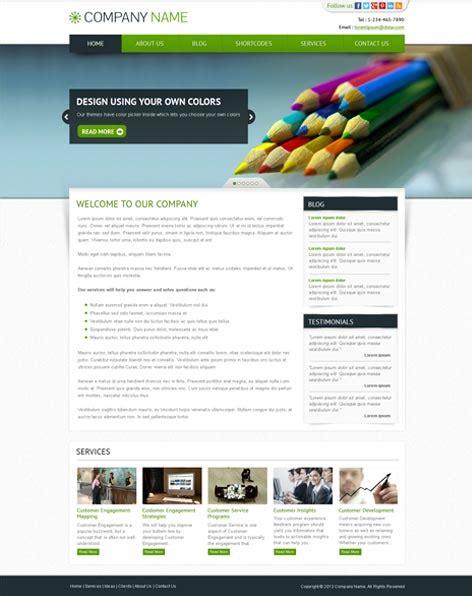 flatline responsive business wordpress theme themes responsive business wordpress theme skt themes