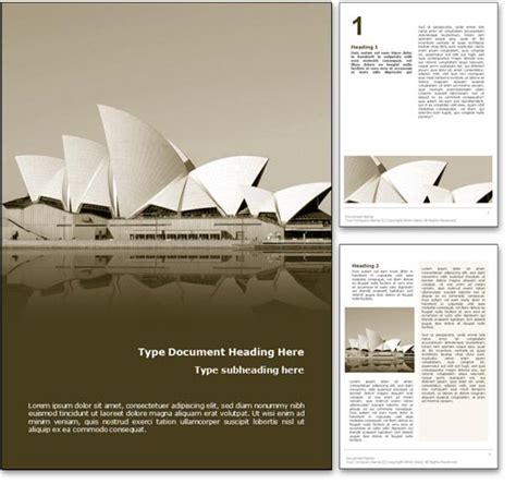 layout of opera house sydney opera house australia word template in yellow