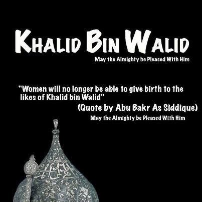 short biography of khalid bin walid khalid bin walid