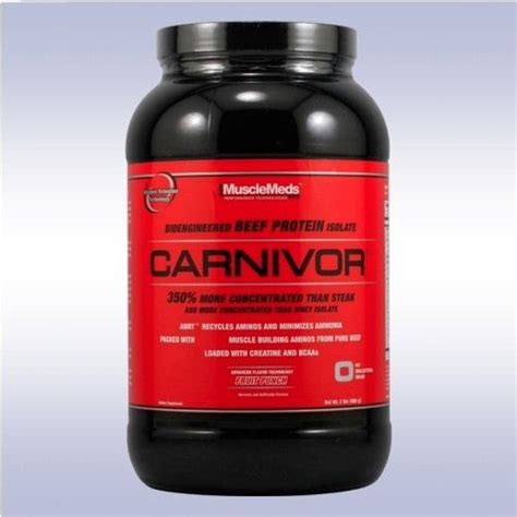 Carnivor Whey Protein Musclemeds Carnivor 2 Lb Beef Protein Isolate Powder W