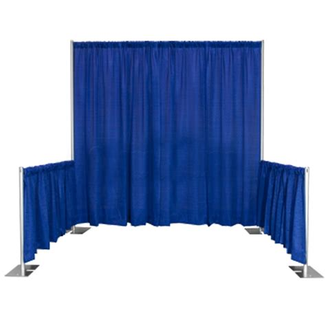 drape rental pipe drape 8 tall x 10 long booth grand rental station