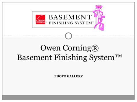 owens corning basement owens corning basement finishing remodeling