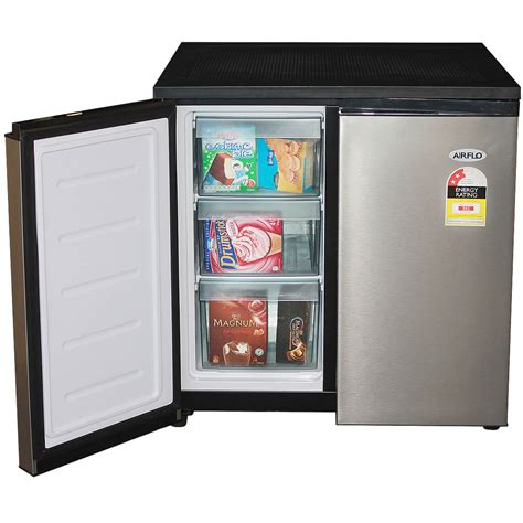 airflo 156l mini side by side fridge freezer stainless steel fridge freezer combination with stainless steel doors 156litre