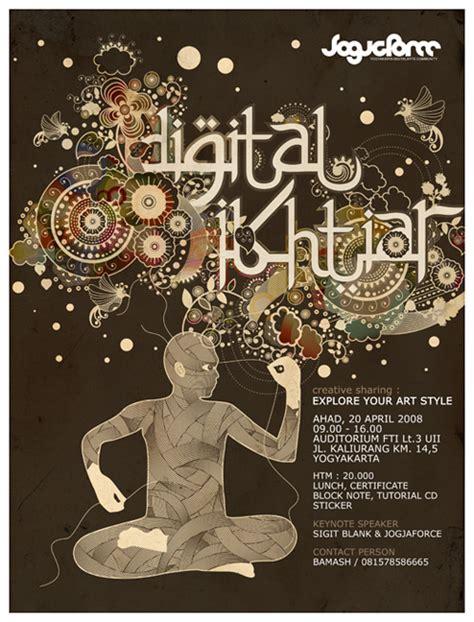 design digital poster 20 amazing poster designs