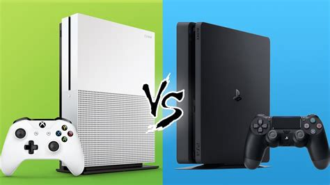 ps4 console vs xbox one ps4 slim vs xbox one s