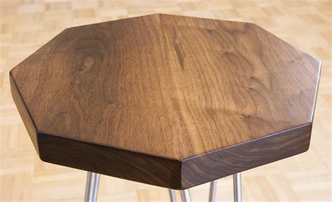 Unique Handmade Furniture - octagonal accent tables bay area custom furniture