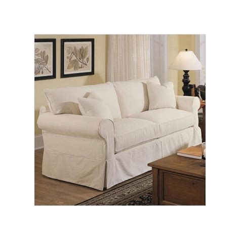 slipcover sofa furniture slipcovers for sofas casual cottage