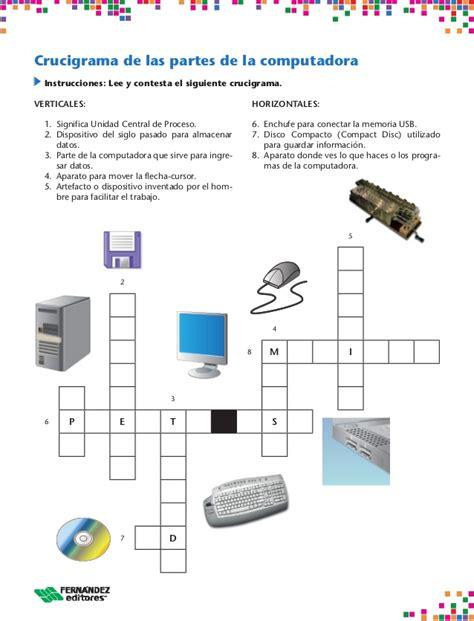 preguntas basicas de diseño grafico crucigramas