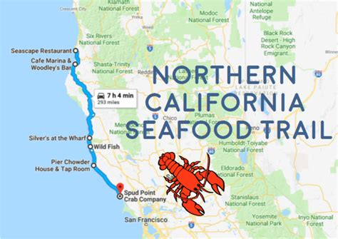 Top Mba In Northern California by Take This Seafood Trail To The Best Seafood On The