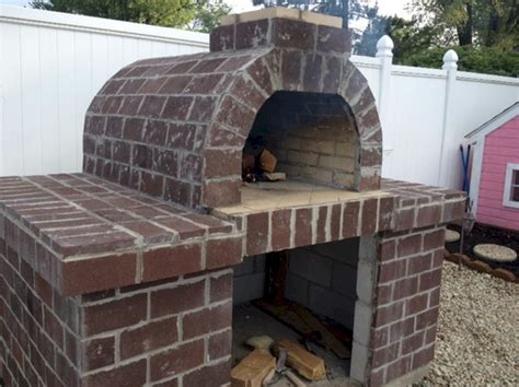 How To Build Pizza Oven Fireplace by The Smith Wood Fired Pizza Oven In Ohio Go Buckeyes