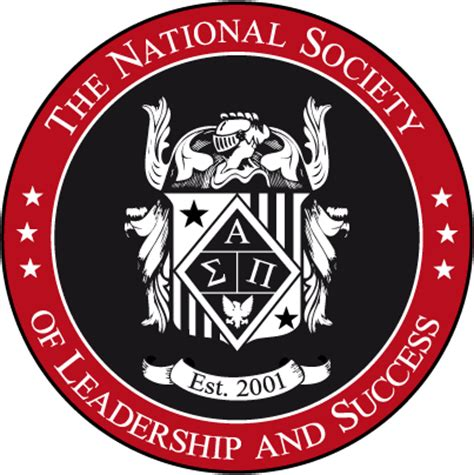 national society of leadership and success   student