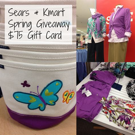 Can Sears Gift Cards Be Used At Kmart - 75 sears kmart spring shopping spree april golightly