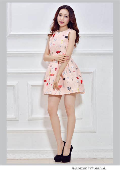 Atasan Motip Lucu mini dress korea motif lucu toko baju wanita murah goldendragonshop