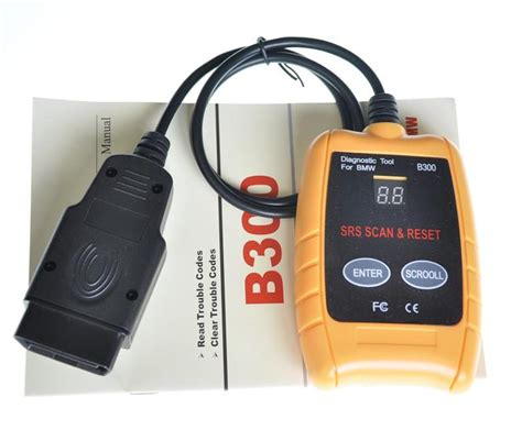 bmw reset tool instructions obd b300 srs scan and reset tool bmw diagnostic tool for