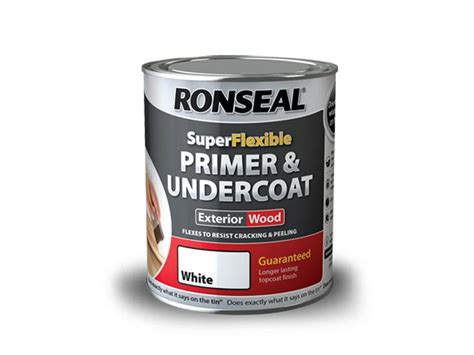 exterior wood primer paint ronseal rslewpwhi750 exterior wood primer and undercoat