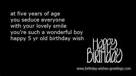 Happy Birthday Wishes 5 Year Boy Happy 5th Birthday Boy Quotes Baby Quotesgram