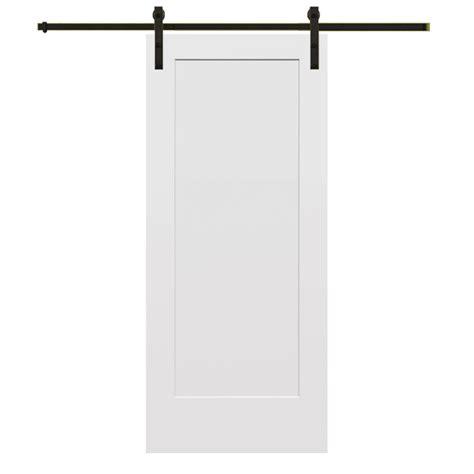32 X 80 Barn Door by Mmi Door 32 In X 80 In Smooth Primed Composite