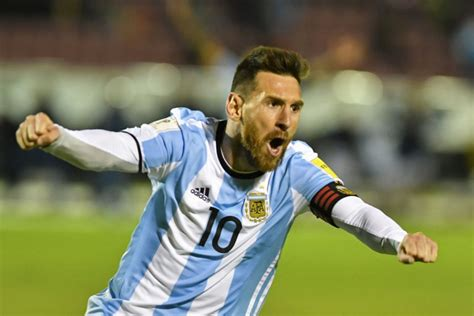 argentina world cup lionel messi shepherds argentina to world cup berth the