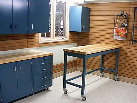 garage workbench layout garage blue color of garage shelves made from metal