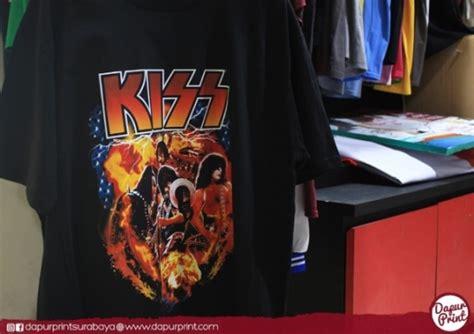 Kaos Custom Dtg cetak t shirt custom tanpa minimum order jakarta printer