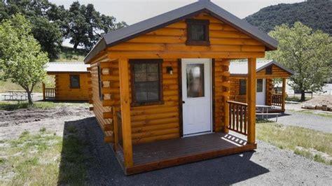 lopez lake adds log cabins  slo county campground    san luis obispo tribune
