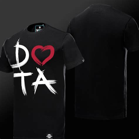 Dota Shirt Black unique dota logo design t shirt black mens shirt tee7