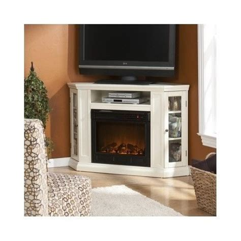 details about corner tv stand fireplace electric mantel