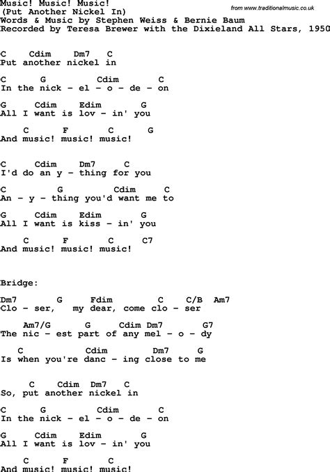 song lyrics and chords song lyrics with guitar chords for