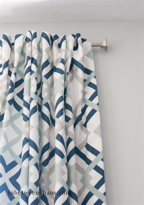 how to hang curtains with hooks super easy back tab curtains