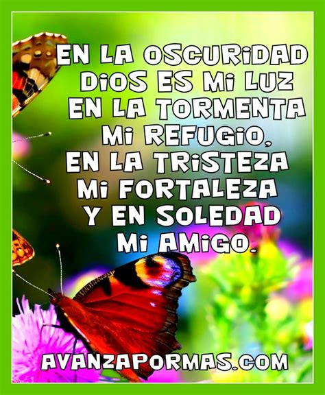 imagenes y palabras cristianas postal con frase quot en la oscuridad dios es mi luz en la